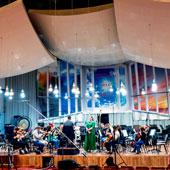 Studio A für Orchester- und Choraufnahmen